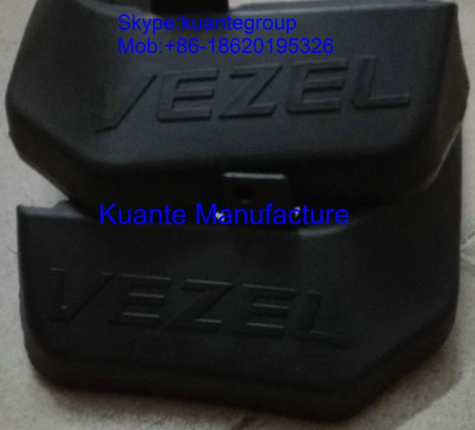 Rubber Car Custom Mud Flaps Accessory Parts Replacement For Honda Vezel With Logo Print