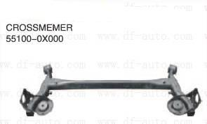Hyundai I10 Rear Car Crossmember Steel Replacement With OEM No. 55100-0X000