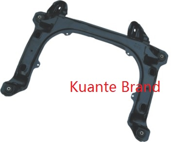 Engine Crossmember Front Axle Beam Engine Cradle Steel Alloy Black Paint