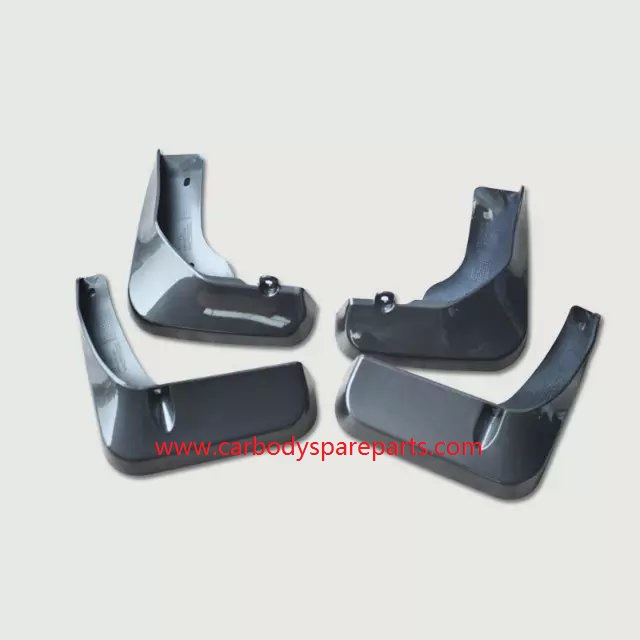 Toyota Camry 2012 Colorful Painted Rubber Mud Flaps Full Set Aftermarket Replacement