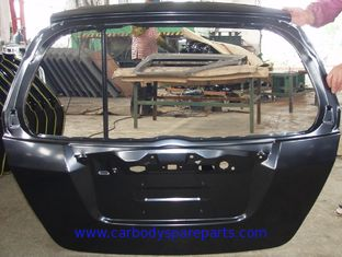 China Steel Car Trunk Lid Series Of Automotive Tail Gate vehicle Body Panel Parts For Honda Fit 2003 - 2008 supplier