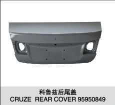 China Steel Rear Car Trunk Lid Replacement For American Chevrolet Cruze 2009- factory